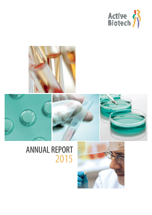 Activeiotech annual report 2015