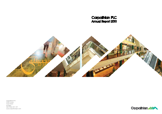 Adams Plc annual report 2010
