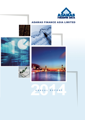Adamas Finance Asia annual report 2014