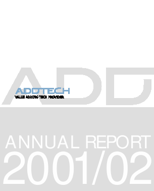 Addtech annual report 2002