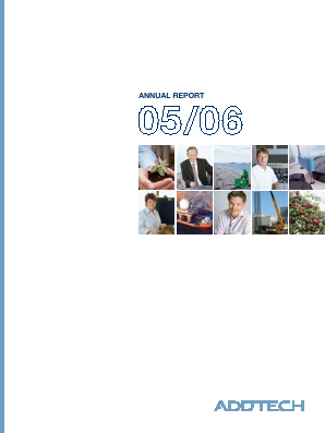 Addtech annual report 2006