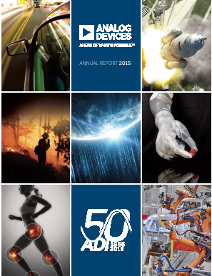 Analog Devices, Inc. annual report 2015