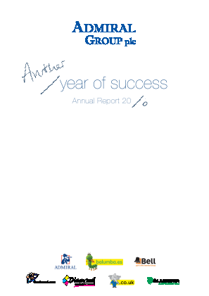 Admiral Group Plc annual report 2006