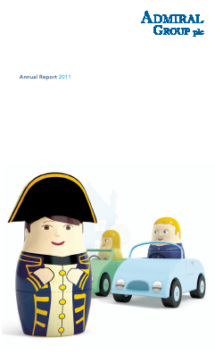 Admiral Group Plc annual report 2011