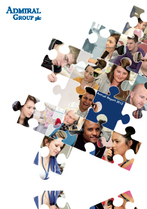 Admiral Group Plc annual report 2012