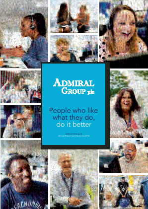Admiral Group Plc annual report 2014