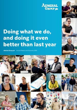 Admiral Group Plc annual report 2015