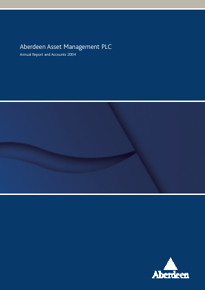 Aberdeen Asset Management Plc annual report 2004