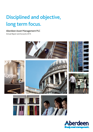 Aberdeen Asset Management Plc annual report 2015
