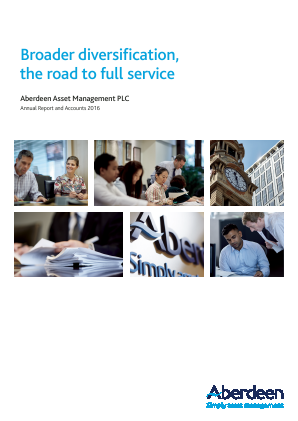Aberdeen Asset Management Plc annual report 2016