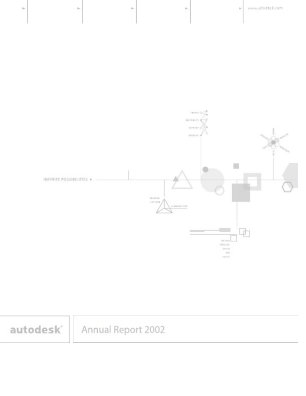Autodesk Incorporated annual report 2002