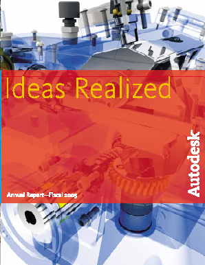 Autodesk Incorporated annual report 2005