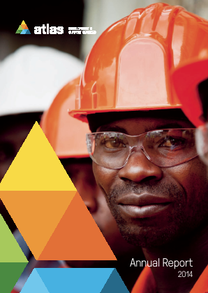 Atlas African Industries (formally Atlas Devlopment & Support Services annual report 2014