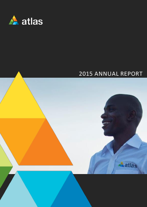 Atlas African Industries (formally Atlas Devlopment & Support Services annual report 2015