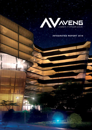 Aveng Group annual report 2016