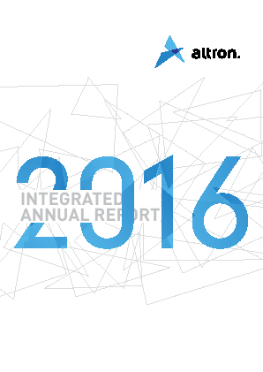 Allied Electronics Corp annual report 2016
