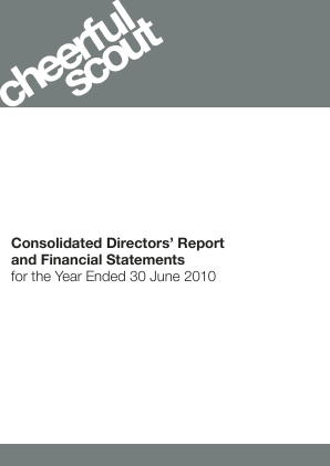 Aeorema Communications Plc annual report 2010