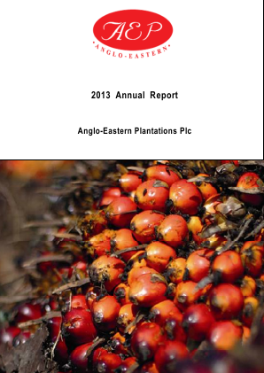 Anglo-Eastern Plantations annual report 2013
