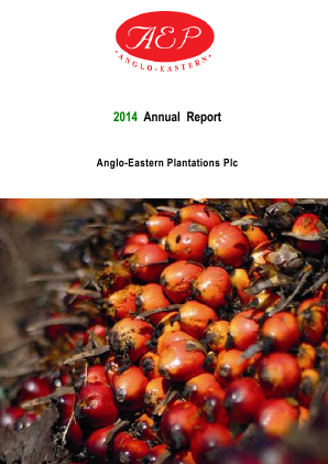 Anglo-Eastern Plantations annual report 2014