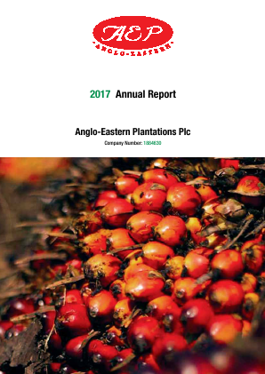 Anglo-Eastern Plantations annual report 2017