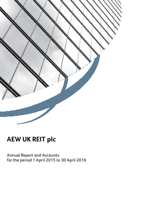 AEW UK Reit Plc annual report 2016