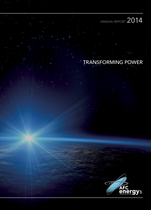 AFC Energy Plc annual report 2014