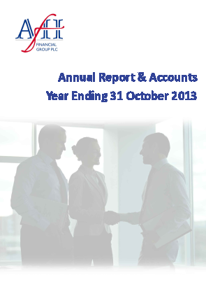 AFH Financial Group Plc annual report 2013