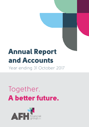 AFH Financial Group Plc annual report 2017