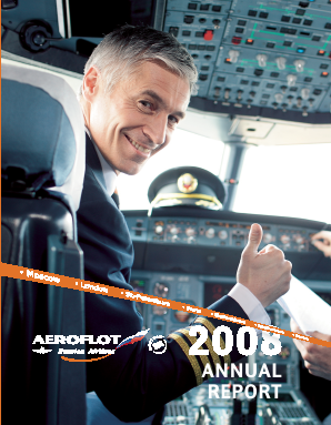 Aeroflot annual report 2008