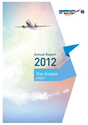 Aeroflot annual report 2012
