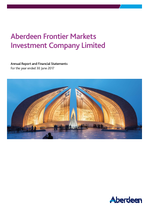 Aberdeen Frontier Markets Investment Company (Previously Advance Frontier Markets Fund) annual report 2017