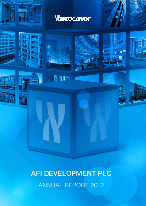 AFI Development Plc annual report 2012