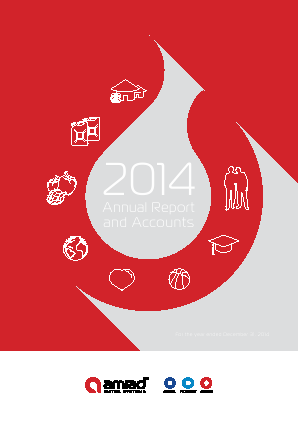 Amiad Water Systems annual report 2014