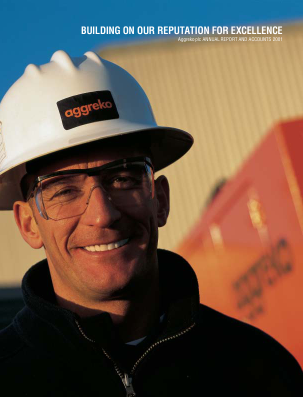 Aggreko annual report 2001