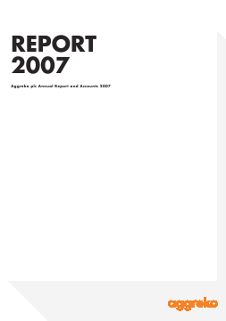 Aggreko annual report 2007