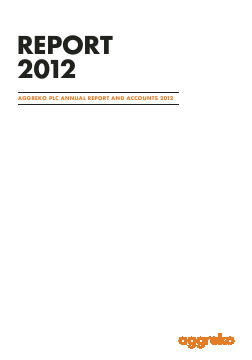 Aggreko annual report 2012