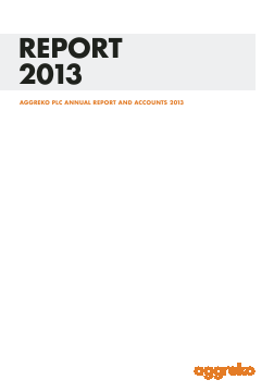 Aggreko annual report 2013