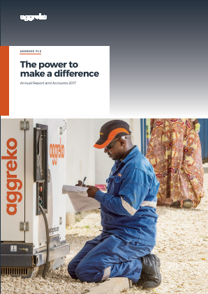 Aggreko annual report 2017
