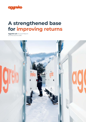 Aggreko annual report 2018