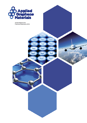 Applied Graphene Materials Plc annual report 2014