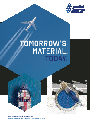 Applied Graphene Materials Plc annual report 2018