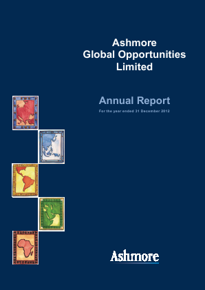 Ashmore Global Opportunities annual report 2012