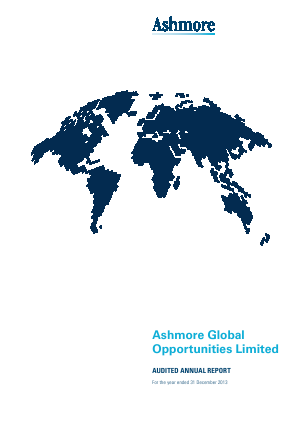 Ashmore Global Opportunities annual report 2013