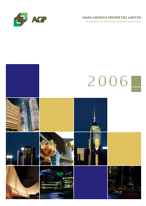 Asian Growth Properties annual report 2006