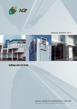 Asian Growth Properties annual report 2011