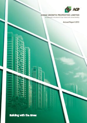 Asian Growth Properties annual report 2013