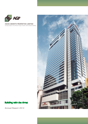Asian Growth Properties annual report 2014