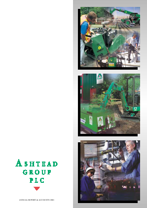 Ashtead Group annual report 2001