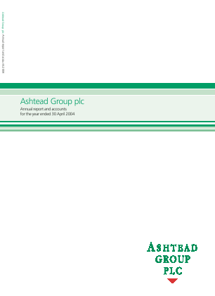 Ashtead Group annual report 2004