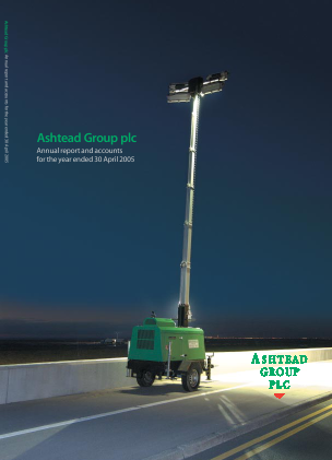 Ashtead Group annual report 2005